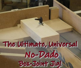How to Cut a Box Joint Without a Dado Stack
