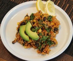 速溶锅Enchilada米饭