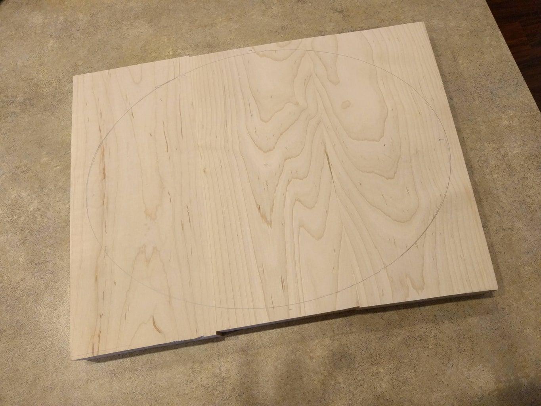 Step 2: Build Wood Base of Lamp