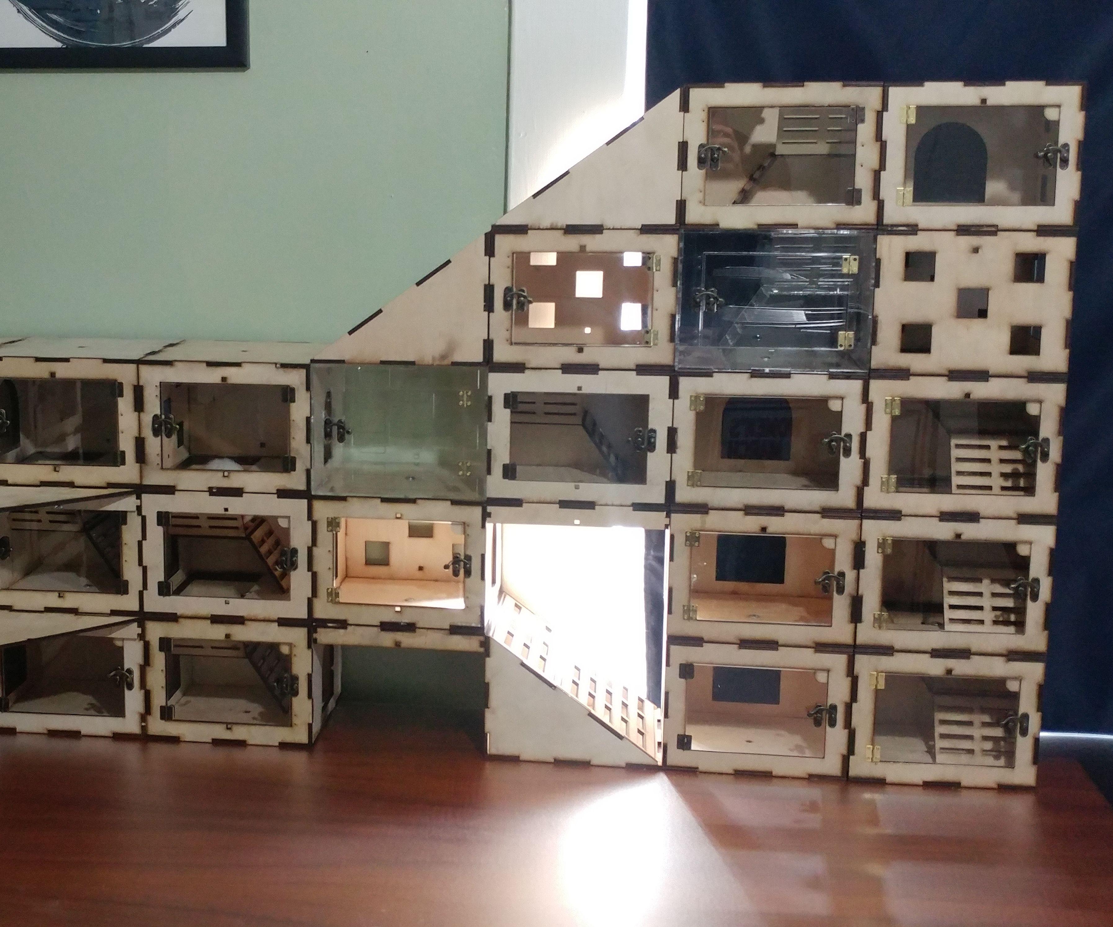 Rat Castle Cubes