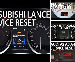 Reset Service Reminder, Maintenance Indicators, Spanners and Inspection Lights