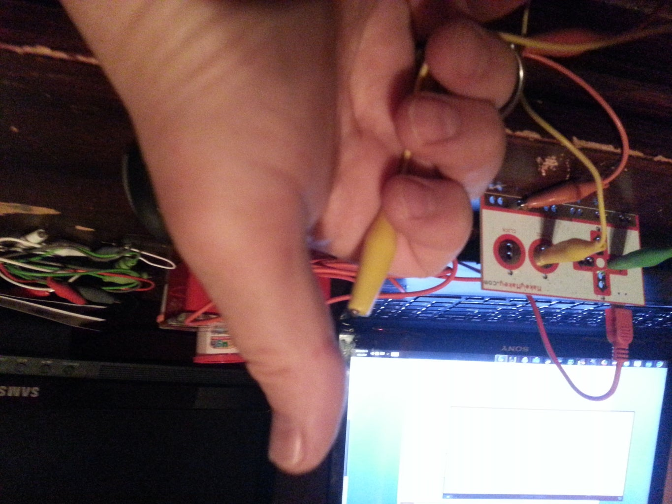 Let's Test Out the Makey Makey