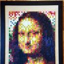 Melted Crayon Mosaic