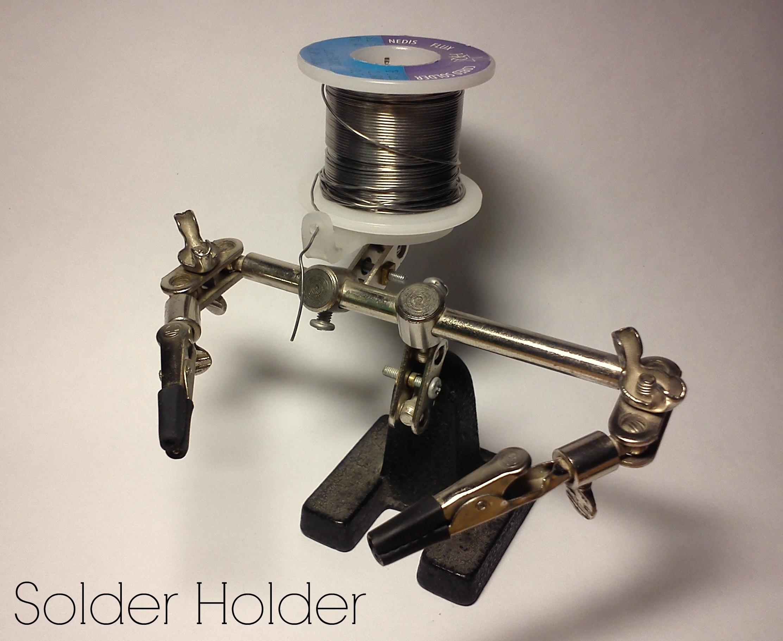 DIY solder holder