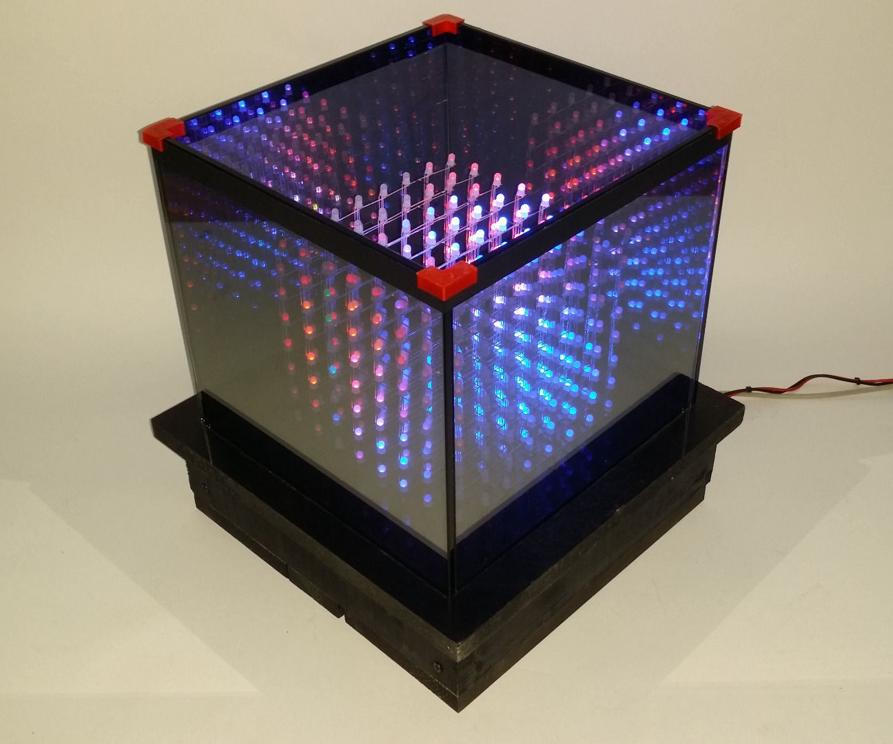 Infinite RGB LED Cube