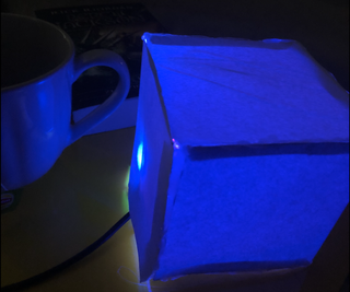 WiFi Controlled Box That Glows!
