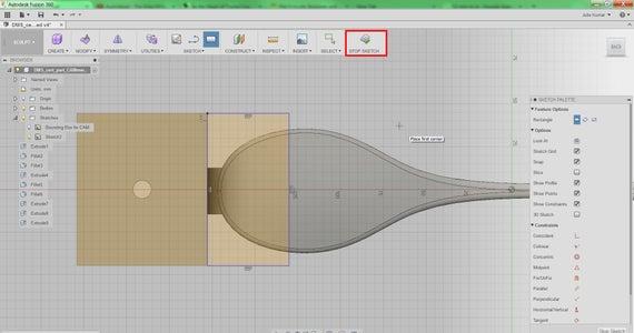 Sketch Bounding Box