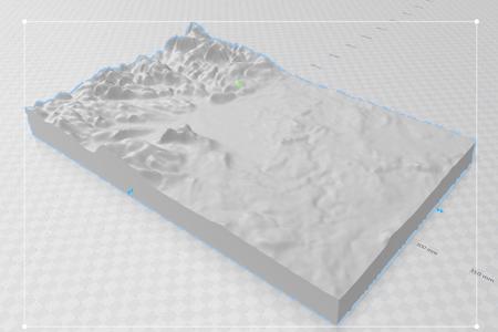 Open Your Map in 3D Builder.