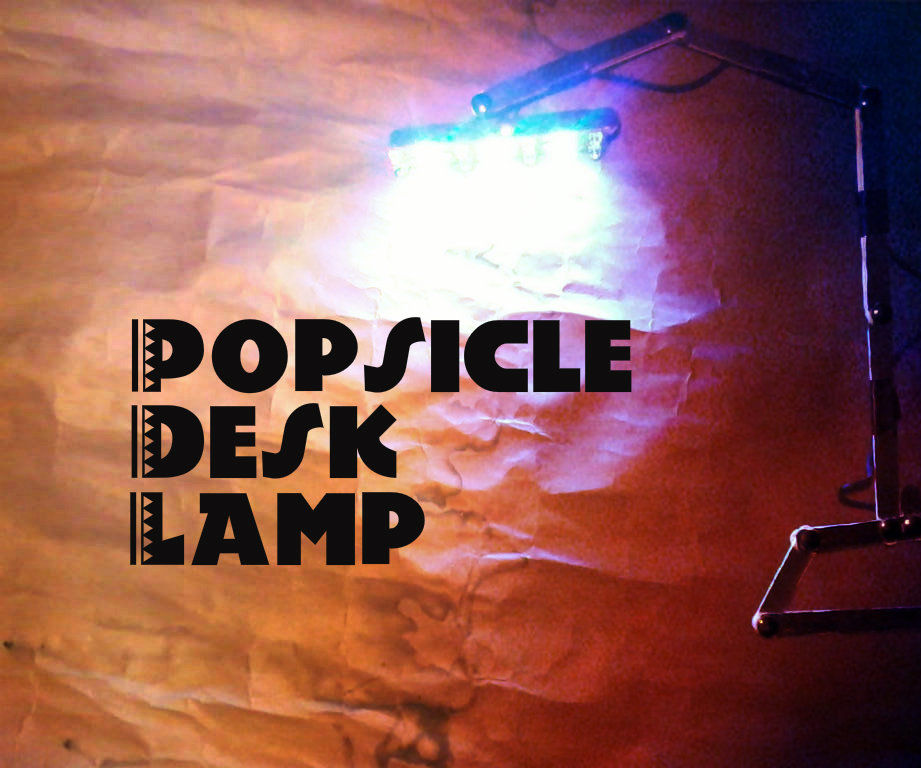Popsicle Desk Lamp