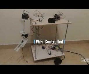Build a Telepresence Robot Controlled Through Wifi