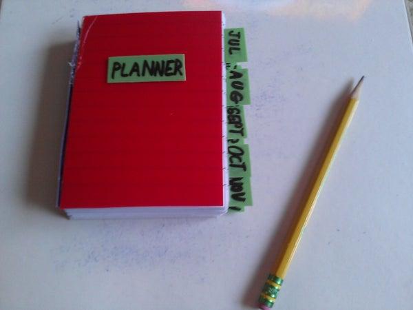 DIY Custom Calendar/Planner Book!