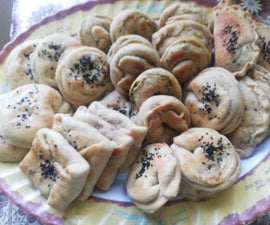The Most Yummy and Healthy Dough With Delicious Filling :  You Will Be Happy Doing and Eating It .