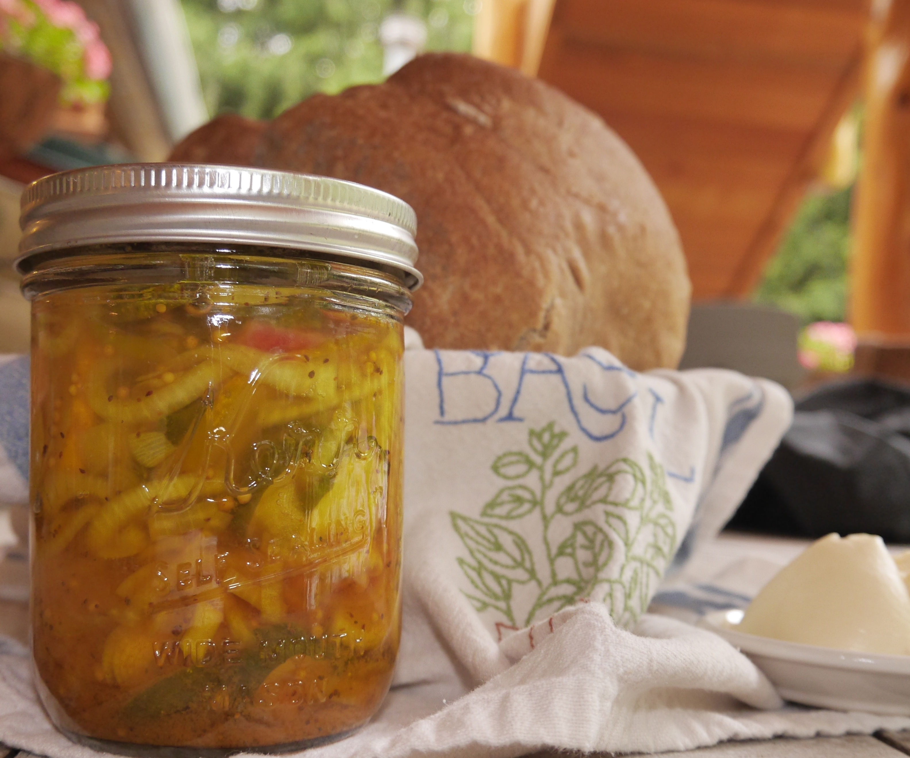 Nitty Gritty Gardener's Bread and Butter Pickles