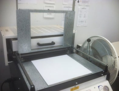 Second Mold: Casting Intermediary and Vacuum Forming Ice Tray