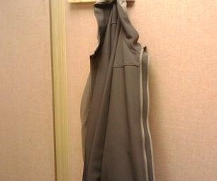 Wooden Cubicle Coat Hook