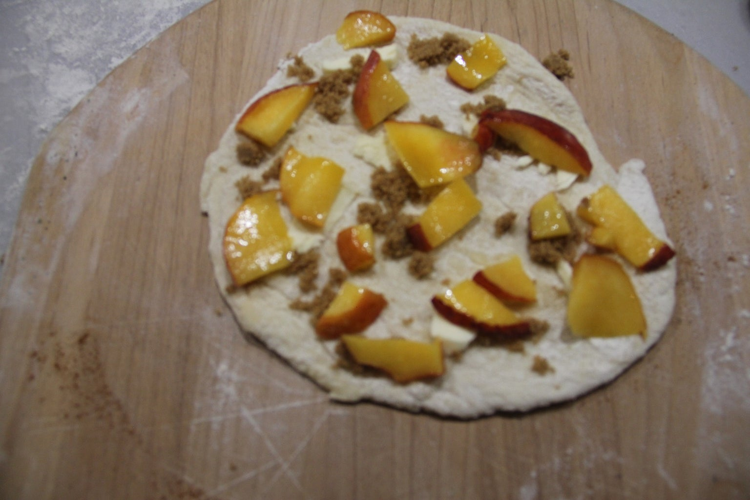 Peach and Butter and Brown Sugar