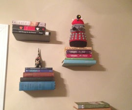 Invisible Bookshelf That Will Not Damage Your Books!