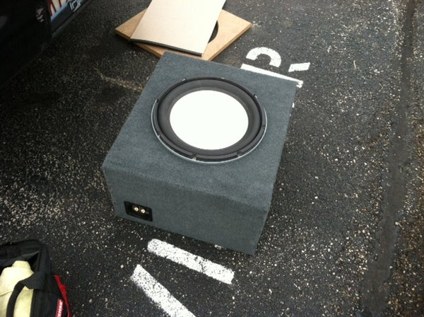 How to Build a Simple Sub Box