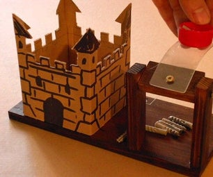 "Castle Siege! (The ""carpet Version"" of the 'Artillery' PC-game)"
