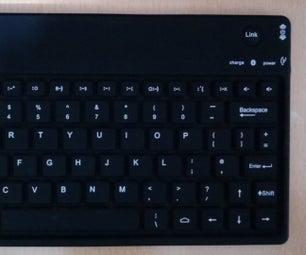 Add Bluetooth Keyboard to Rpi2 Kali
