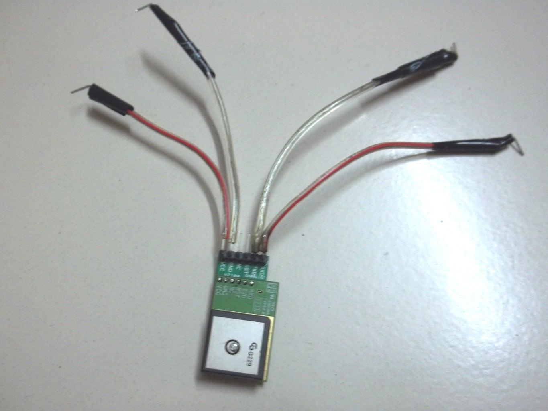 Wiring the GPS Module