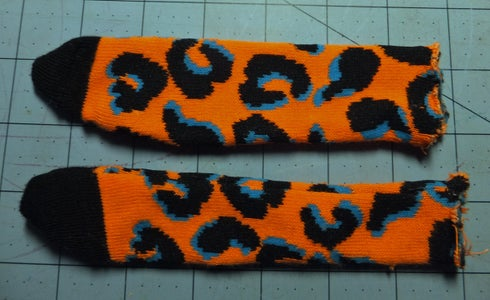 Sew & Stuff the Arms & Tail