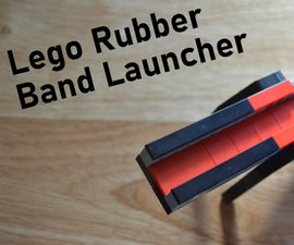 How to Make a LEGO Rubber Band Launcher: in 7 Easy Steps