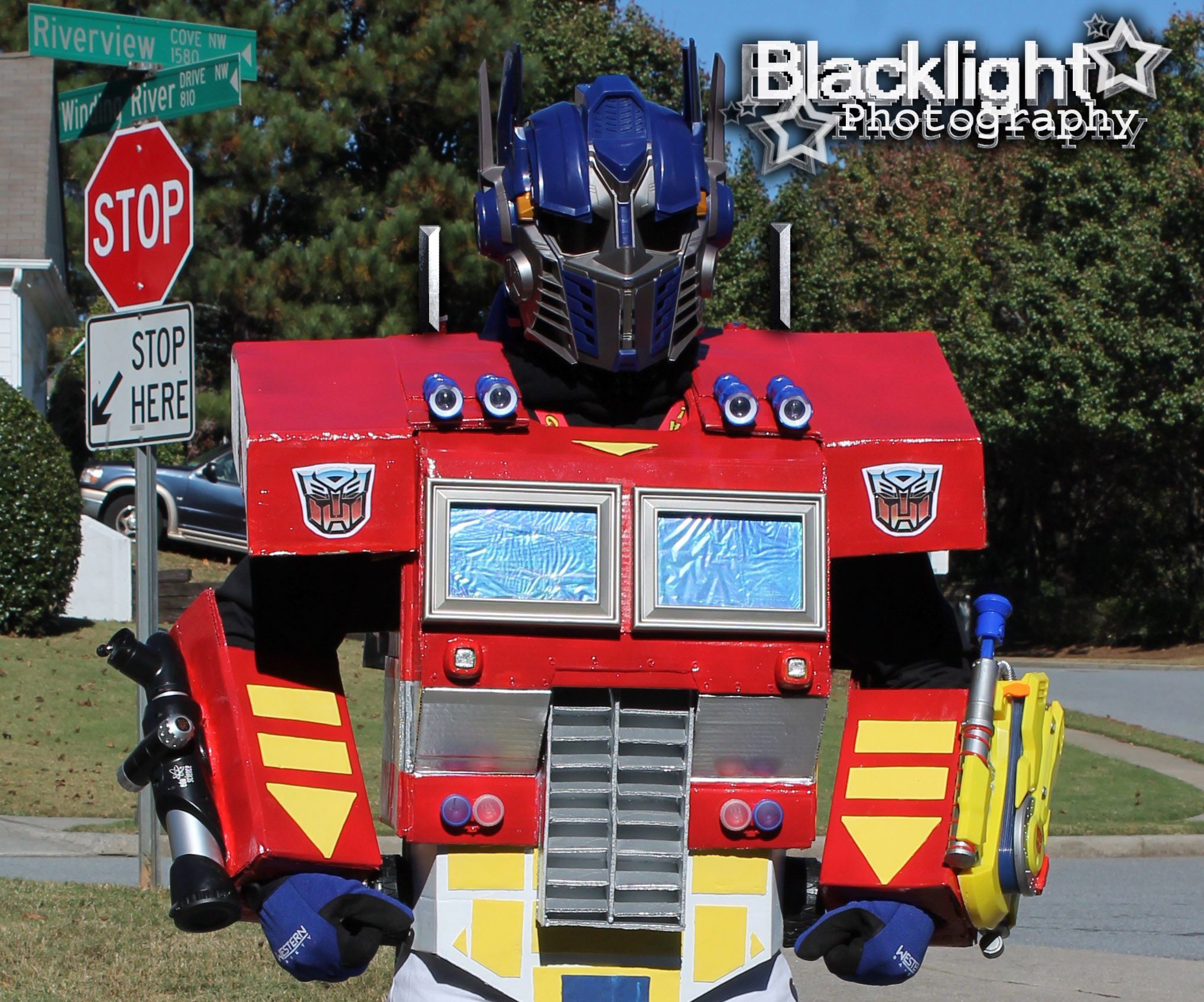 Transformers Optimus Prime costume