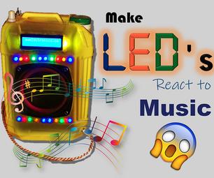 LED SYNC到MUSIC + LCD显示屏
