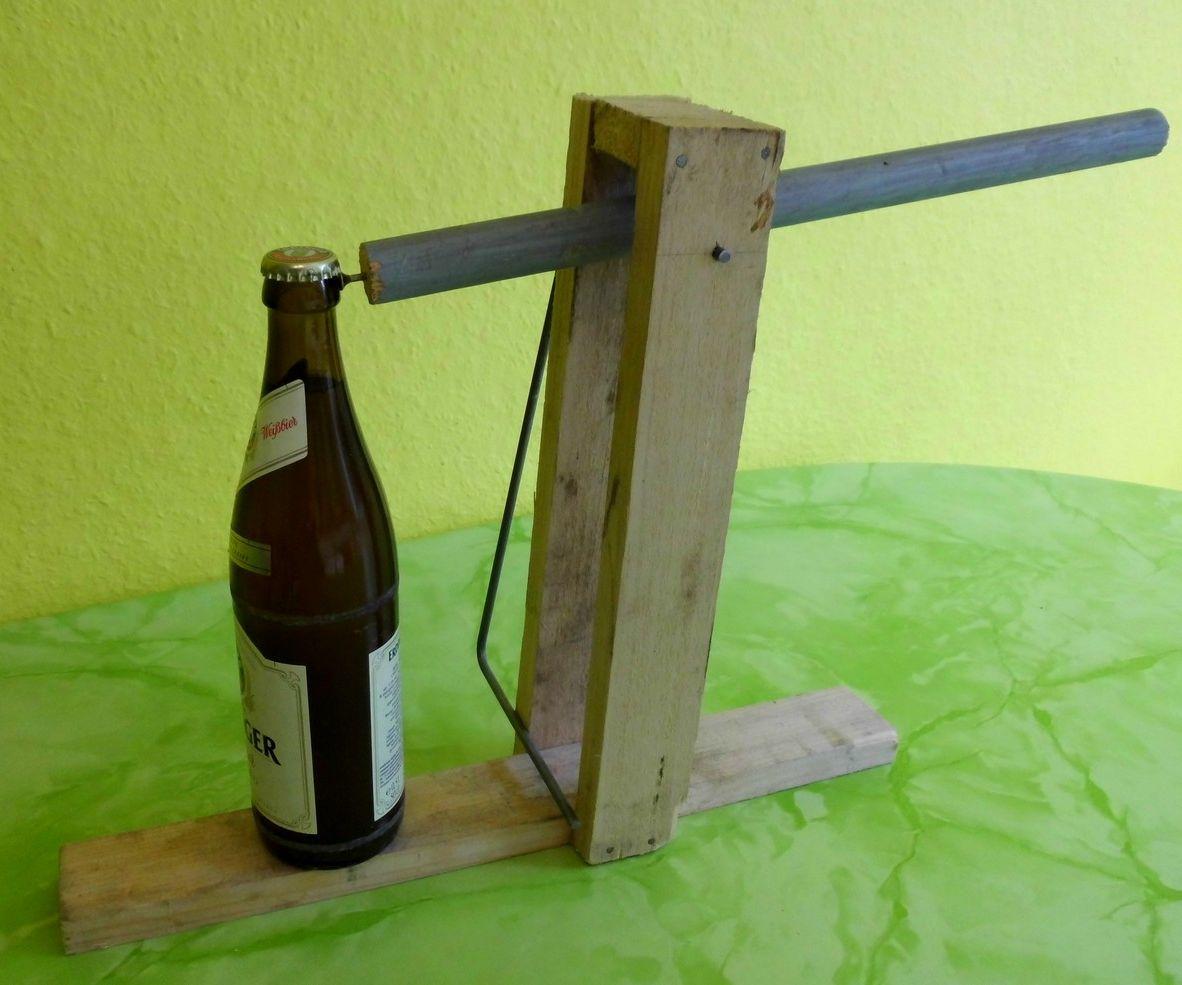 Catapult Bottle Opener