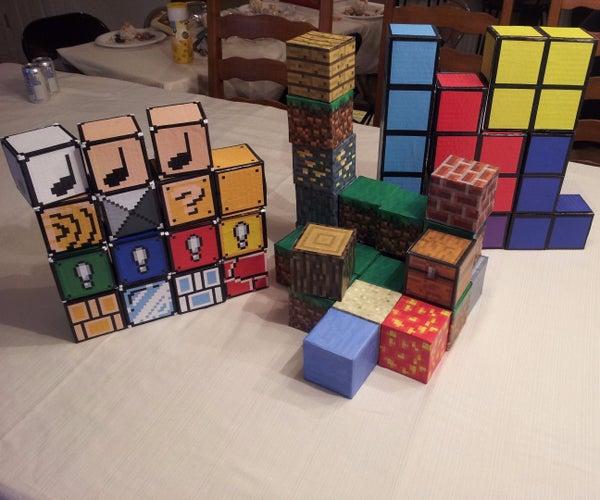 Cardboard Building Blocks