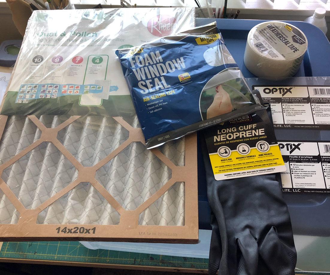 DIY Indoor Sanding Box