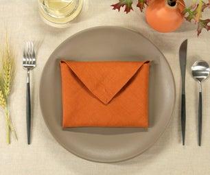 Envelope Napkin Fold
