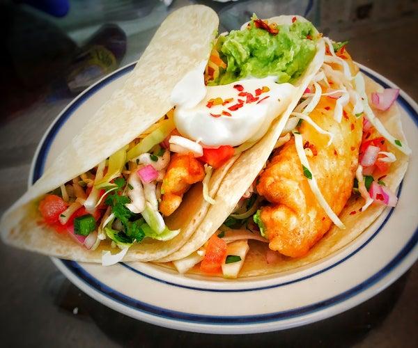 Jalapeño Crispy Fish Tacos