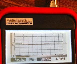 Graticule (reticle) for Velleman HPS140 Digital Oscilloscope