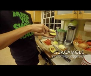Guacamole Making in Time Lapse