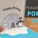 Pop-Up Penguin Card