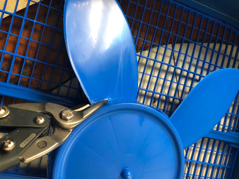 Cut Fan Blades
