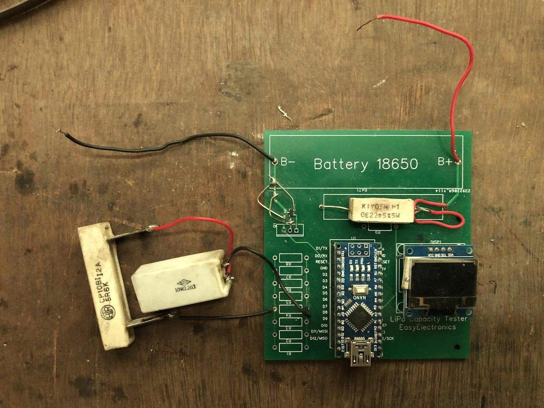 DIY LiPo Battery Capacity Tester