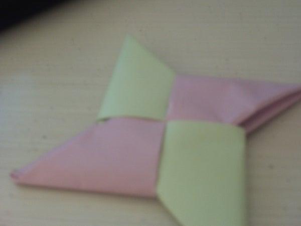 How to Make a Paper Shurikun