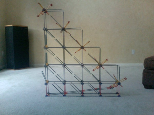 K'nex Binary Counter W/ Exit Ramp