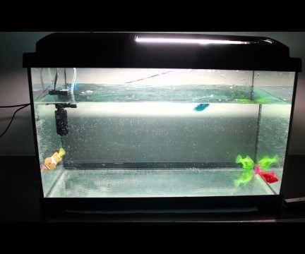 Robotic fish tank