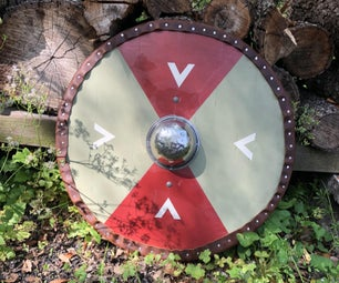 How to Make a Viking Round-Shield