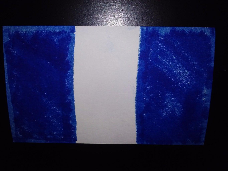 DIY Flag Art: Guatemala