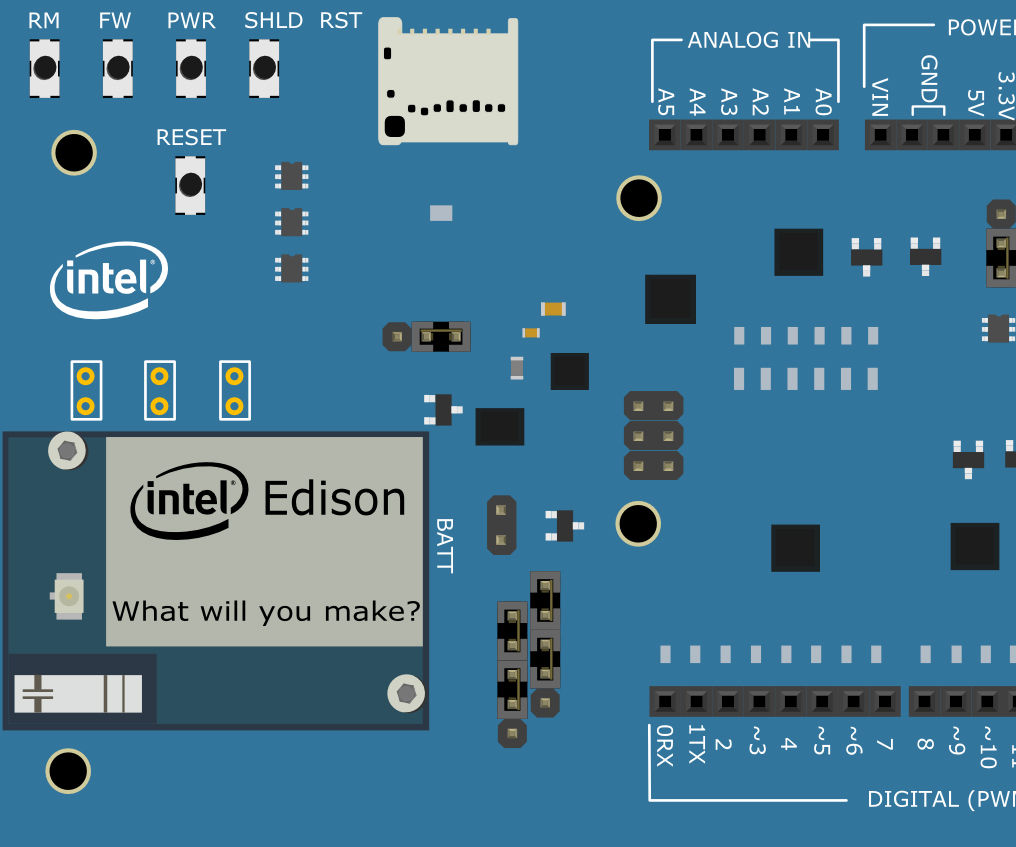 Intel® Edison Hands-on Day 1: Pushbutton