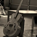 How to make a fretless guitar with a glass fretboard!