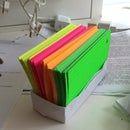 Origami box for Index Cards