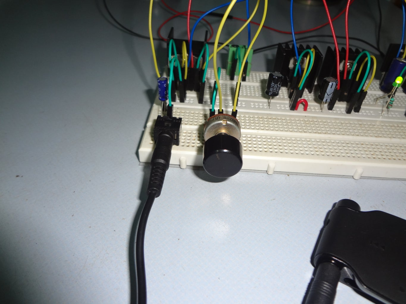 Input to Amplifier