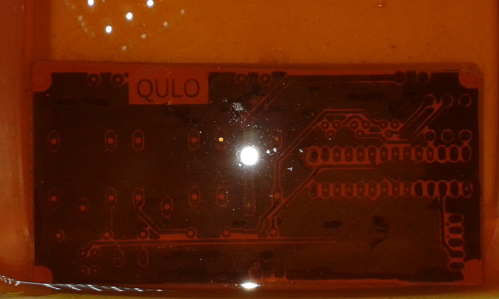 PCB Etching and Component Soldering