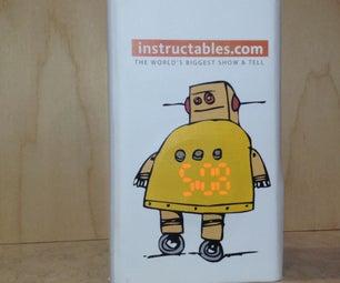 Instructables Robot Clock